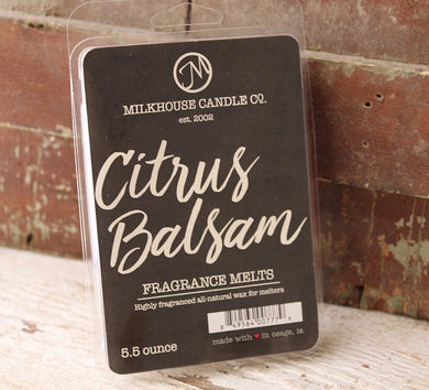 Creamery Collection Citrus Balsam Fragrance Melt