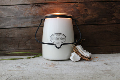 White Driftwood & Coconut - 22-Ounce Butter Jar Candle