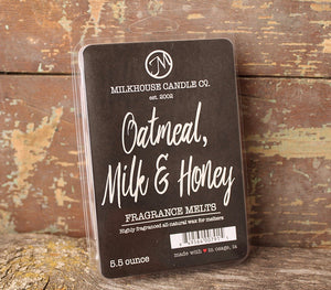 Creamery Collection Oatmeal, Milk & Honey Fragrance Melt