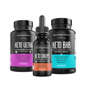The LUVV Keto 3-Pack