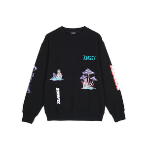 Xlarge x Jungles Relaxed Woman Crewneck Sweater