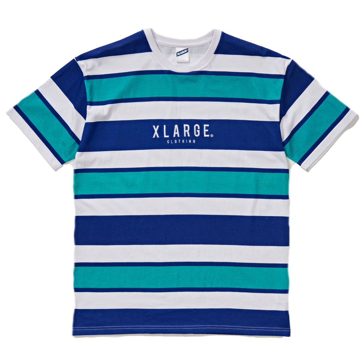 WHO STRIPE TEE