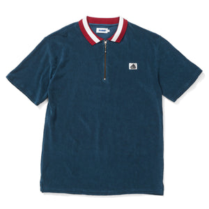 Terry 1/4 Zip SS Polo, Tops  - XLarge Brand