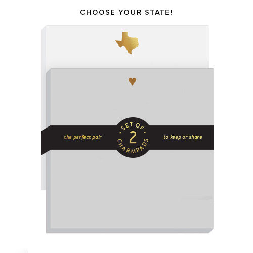 Choose Your State + Heart 2 Pack