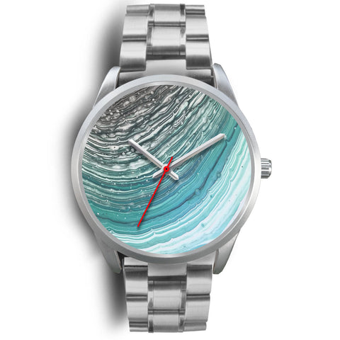 Tides Watch for Men - Stainless Steel Band