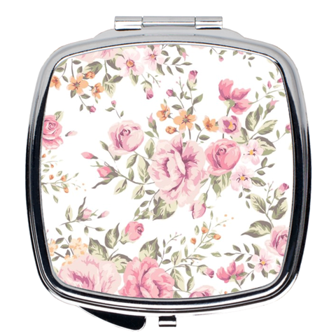 Shabby Chic Compact Mirror