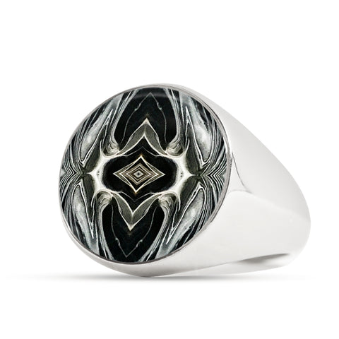 Spectre Signet Ring for Men - Sizes 4 to 13