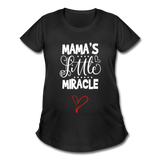 Mama's Miracle Maternity Shirt - Black - Sizes S-2X - black