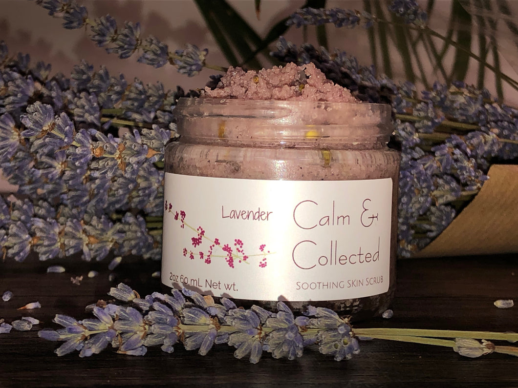 Calm & Collected Soothing Scrub - Rooted Rituals