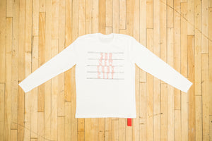 368 New York Long Sleeve White Tee