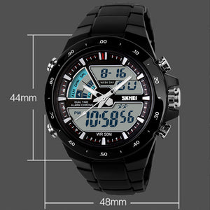 Multi Feature Waterproof Military Sports Watch