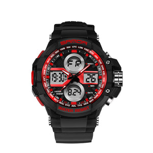 Color Back lights Chronograph Military Watch