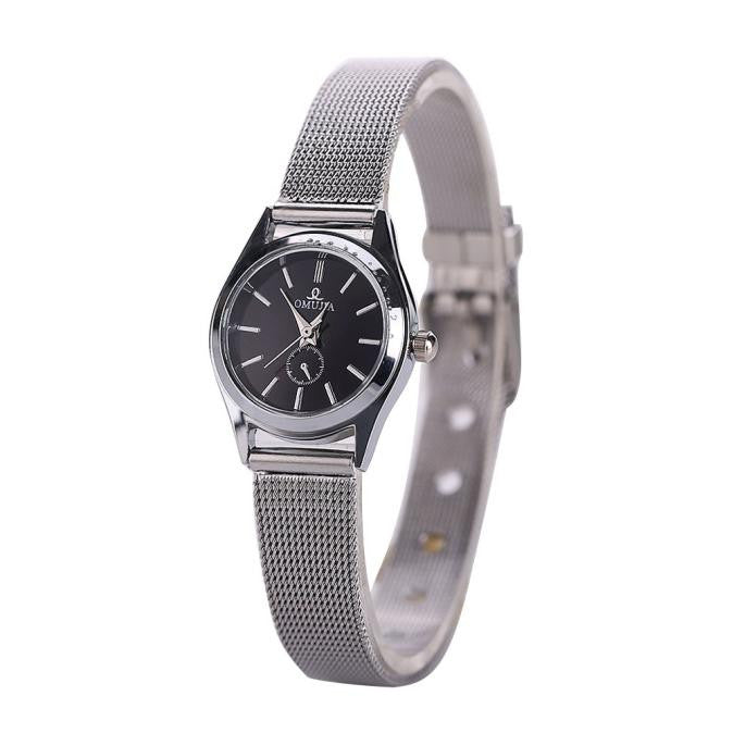 Women Stainless Steel Band Wrist Watch