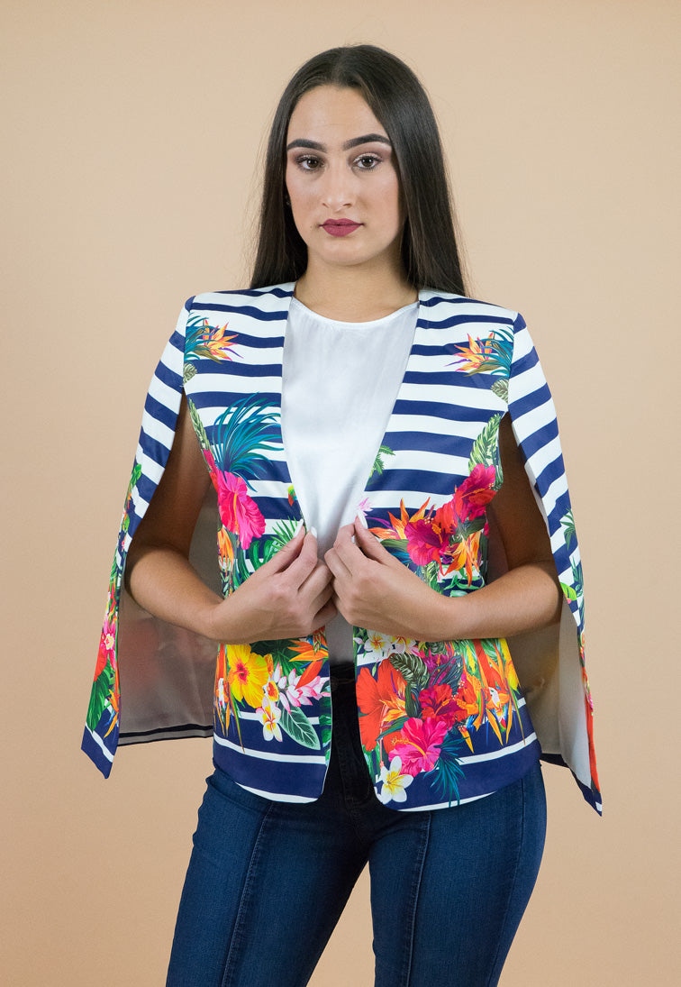 Tropical Cape Jacket