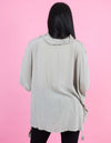 WINTER COLLECTION  Beige Long Sleeve Pullover Top