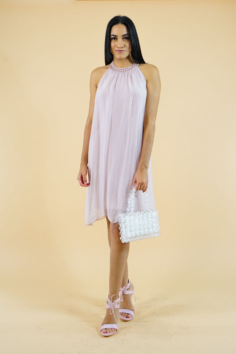 COLLECTION Pink Shif Short Dress