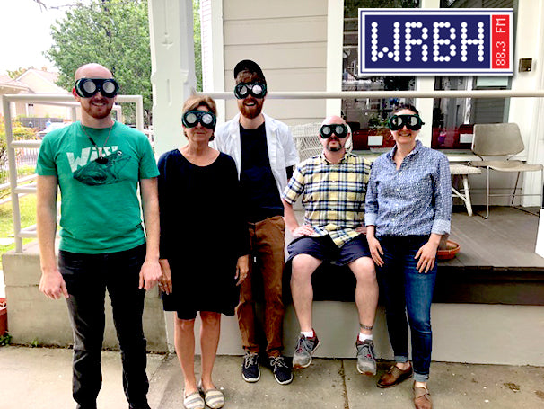 Reading radio station event features Low Vision Simulators