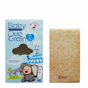 MommyJ Organic Duo-Grain 6m+ (900g)