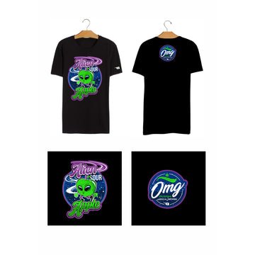 Alien Sour Apple T_shirt, Grass-Hopper Dispensaries