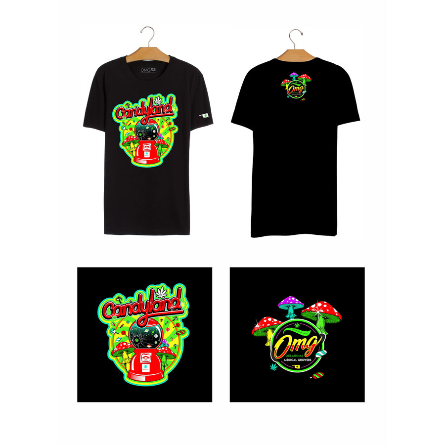 Candyland T-Shirt, Grass-Hopper Dispensaries