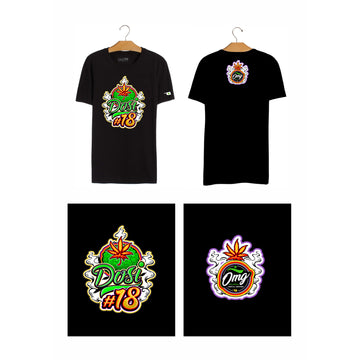 Dosi 18 T-Shirt, Grass-Hopper Dispensaries