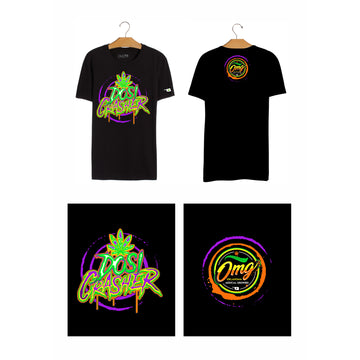 Dosi Crasher T-Shirt, Grass-Hopper Dispensaries