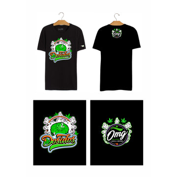 Dosidos T-Shirt, Grass-Hopper Dispensaries