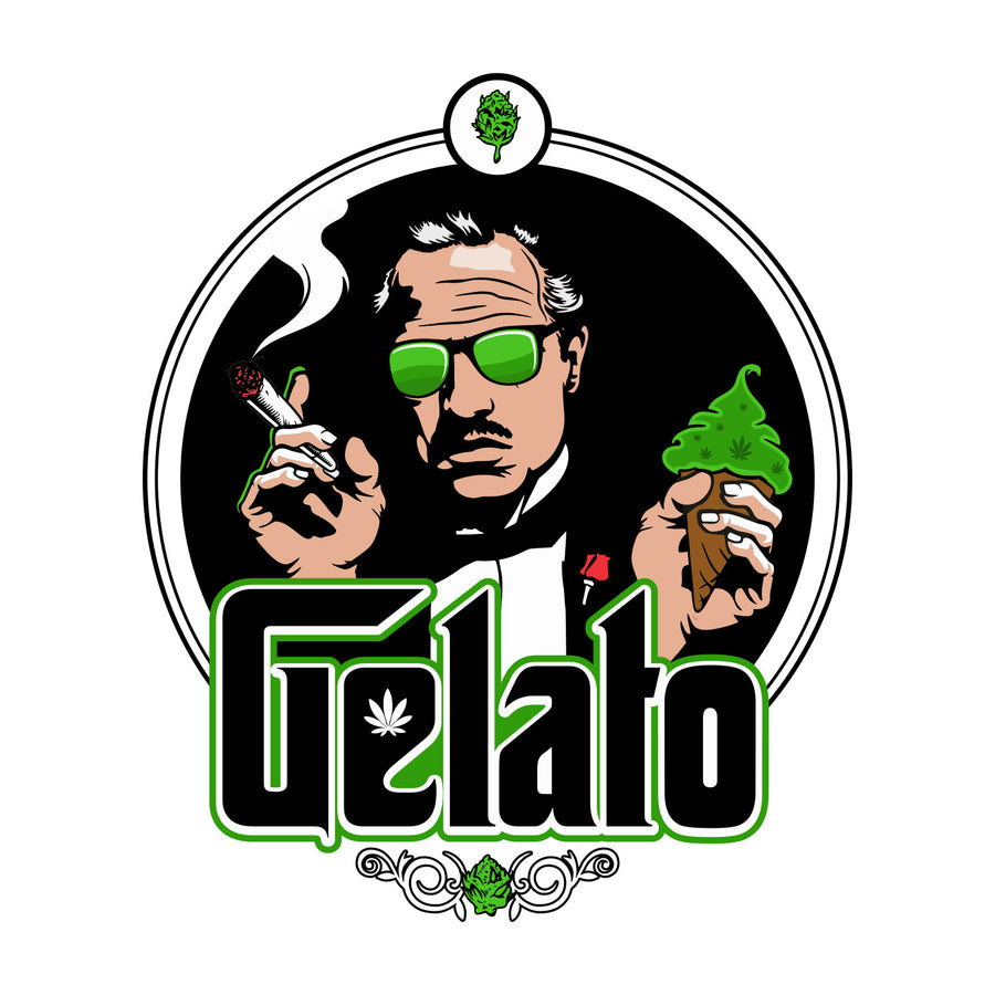 Gelato Sticker, Grass-Hopper Dispensary