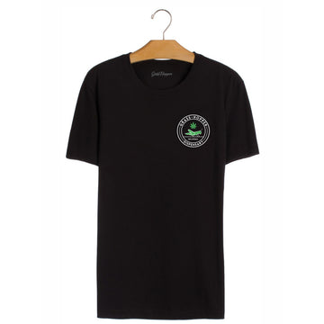 Grass Hopper T-Shirt Black front