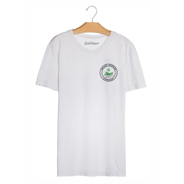 Grass Hopper T-Shirt White front