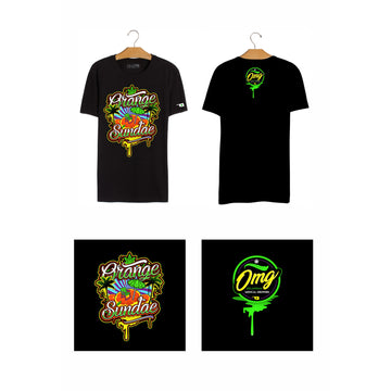 Orange Sundae T-Shirt, Grass-Hopper Dispensaries