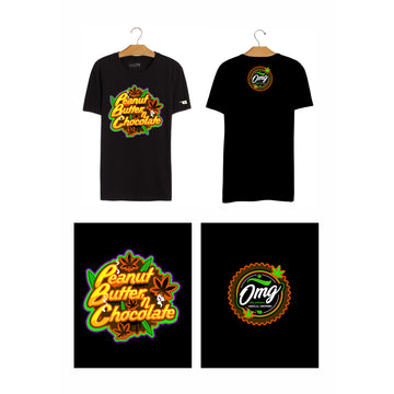 Peanut Butter Chocolate T-Shirt, Grass-Hopper Dispensaries