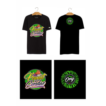 Peanut Sundae T-Shirt, Grass-Hopper Dispensaries