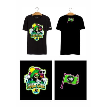 Sugar Cane T-Shirt, Grass-Hopper Dispensaries