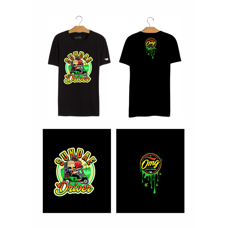 Sundae Driver T-Shirt, Grass-Hopper Dispensaries