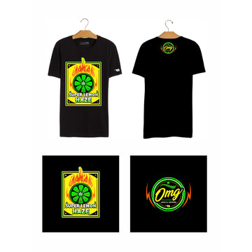 Super Lemon Haze T-Shirt, Grass-Hopper Dispensaries