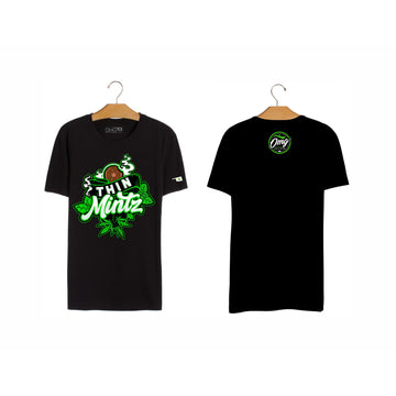 Thin Mintz T-Shirt, Grass-Hopper Dispensaries
