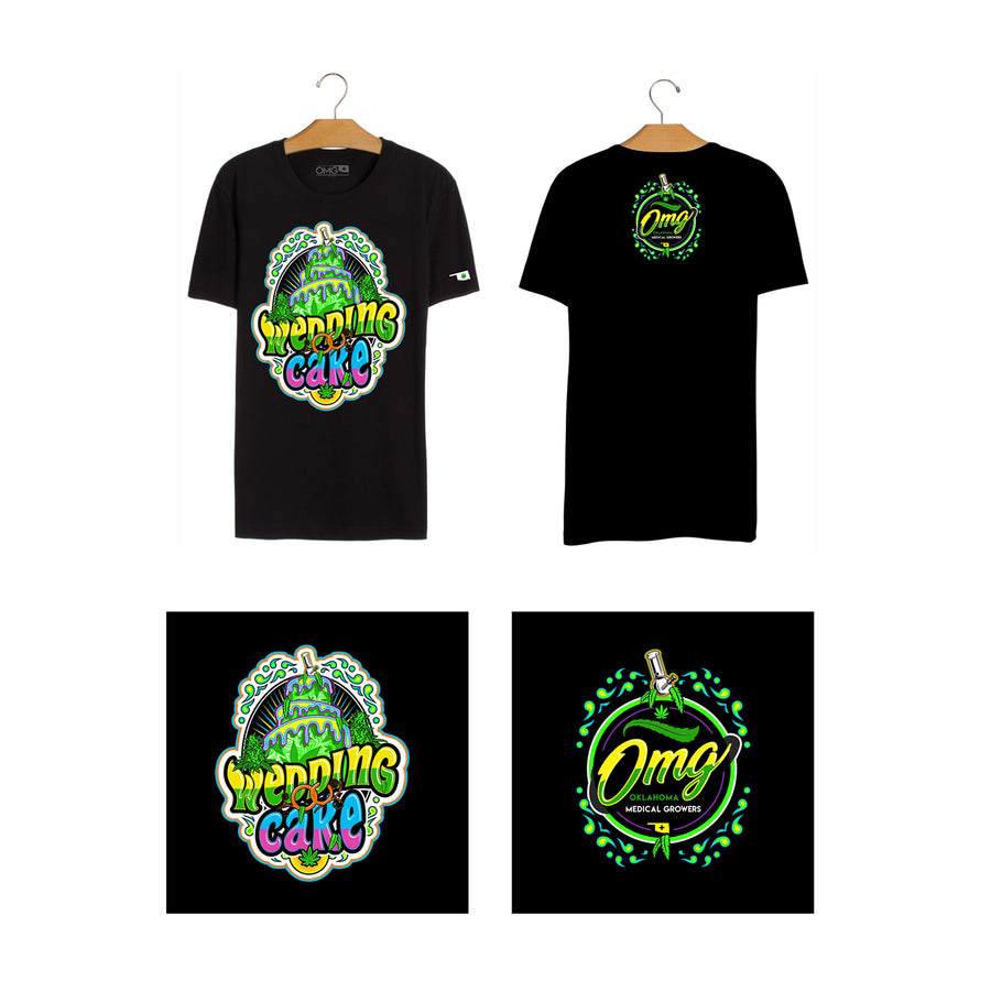 Wedding Cake T-Shirt, Grass-Hopper Dispensaries