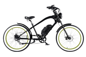 Michael Blast Vacay Beach Cruiser 500w Electric - Black/Green