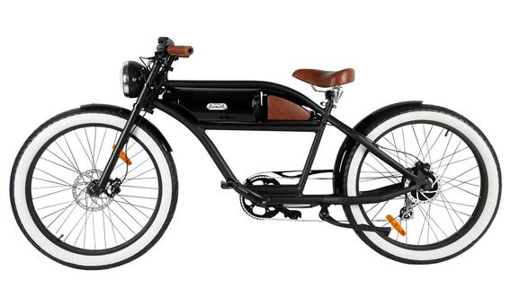 Michael Blast Greaser 500w Electric Bike Cafe Racer - Black/Black
