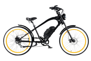 Michael Blast Vacay Beach Cruiser 500w Electric - Black/Orange