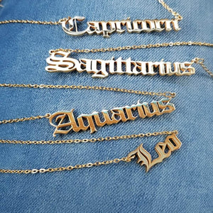 What's Your Sign Necklace - Trendznstuff