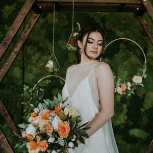 Orange Crush Bridal Bouquet