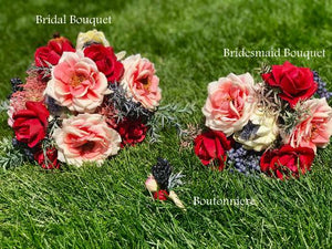 All Bouquets - Matching Boutonniere