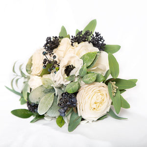 Faux Bouquet White - Bridesmaid