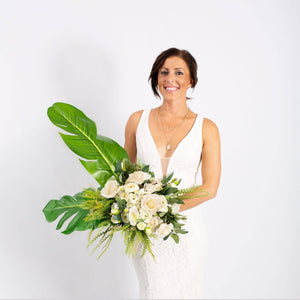 Faux Bouquet White - ExtraLarge