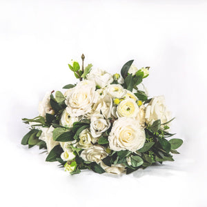 Faux Bouquet White - Large