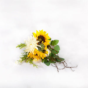 Faux Bouquet Yellow - Bridesmaid