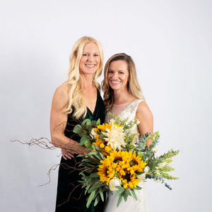 Faux Flower Sunflower - Bridesmaid