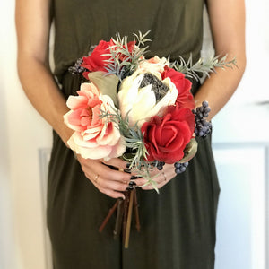 Bohemian Bridesmaid Bouquet